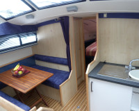 solitaire dinette galley